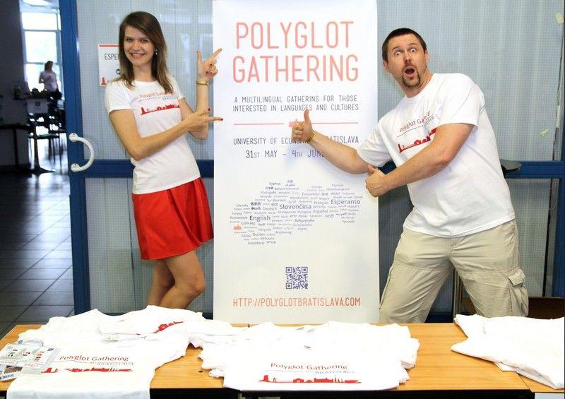 polyglot gathering organizers