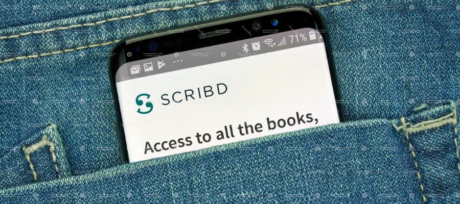 Scribd - audiobooks and e-books