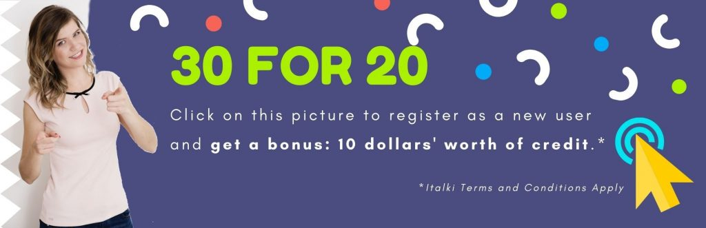 Register as anew user with our referral link and get abonus 10 dollars' worth of credit.